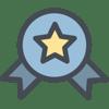 business logistics badge award